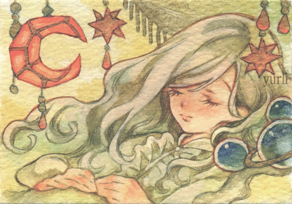 ミニ原画 眠り姫