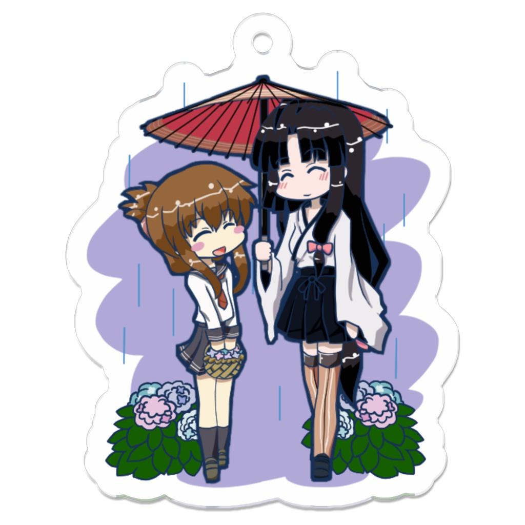 梅雨時の電ちゃんと祥鳳さん
