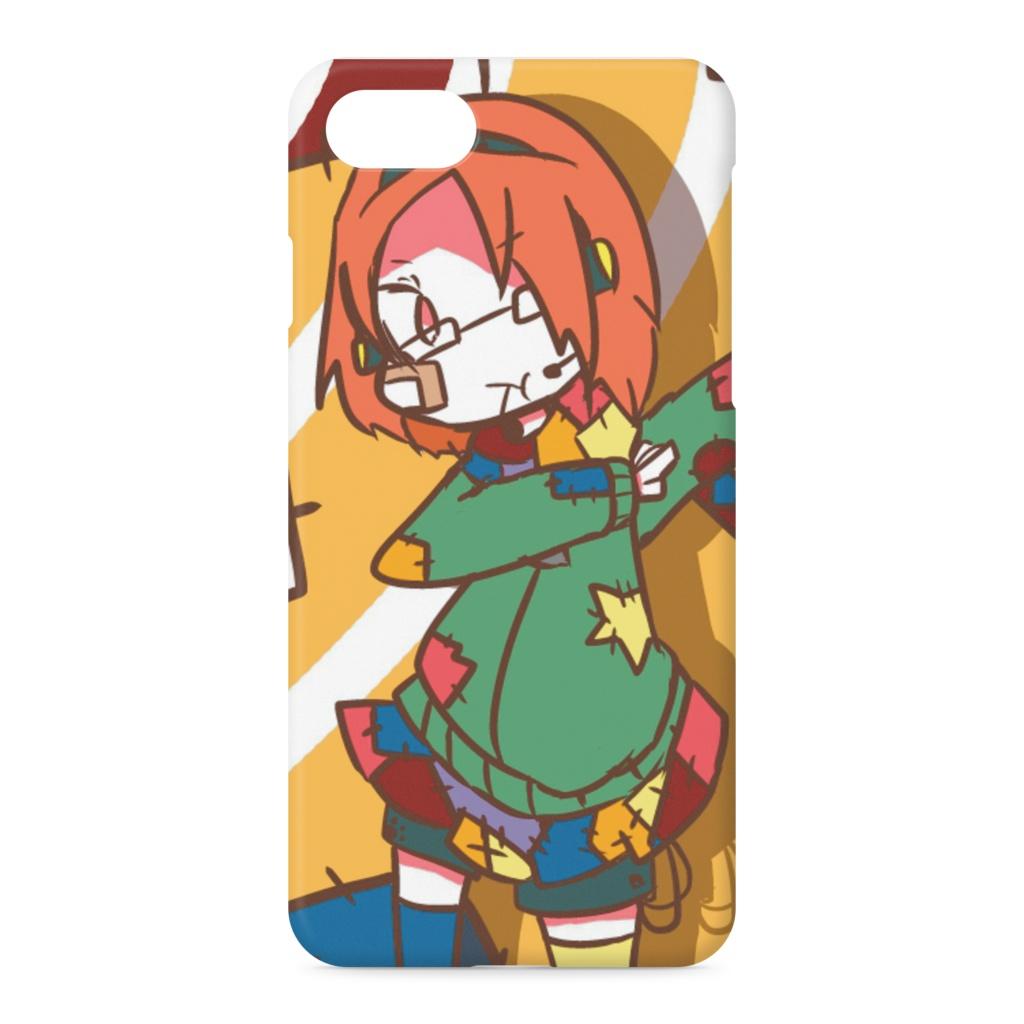 ツギハギ女子高生のiPhoneケース(iPhone 7 - 側面あり)