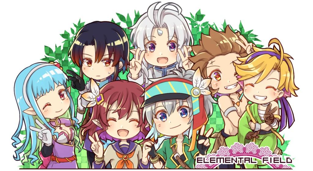 Elemental Field アクリルスタンド