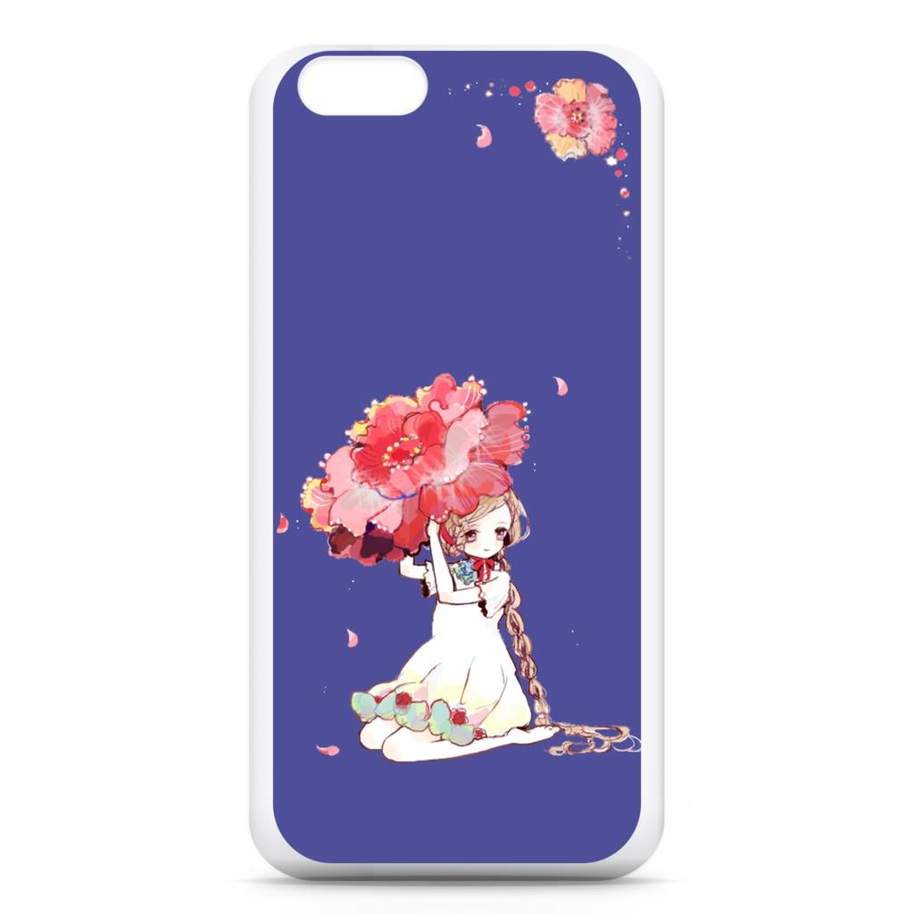 少女(花)iPhoneケース