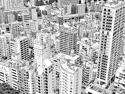 東京俯瞰002 , kasugaharuka , BOOTH