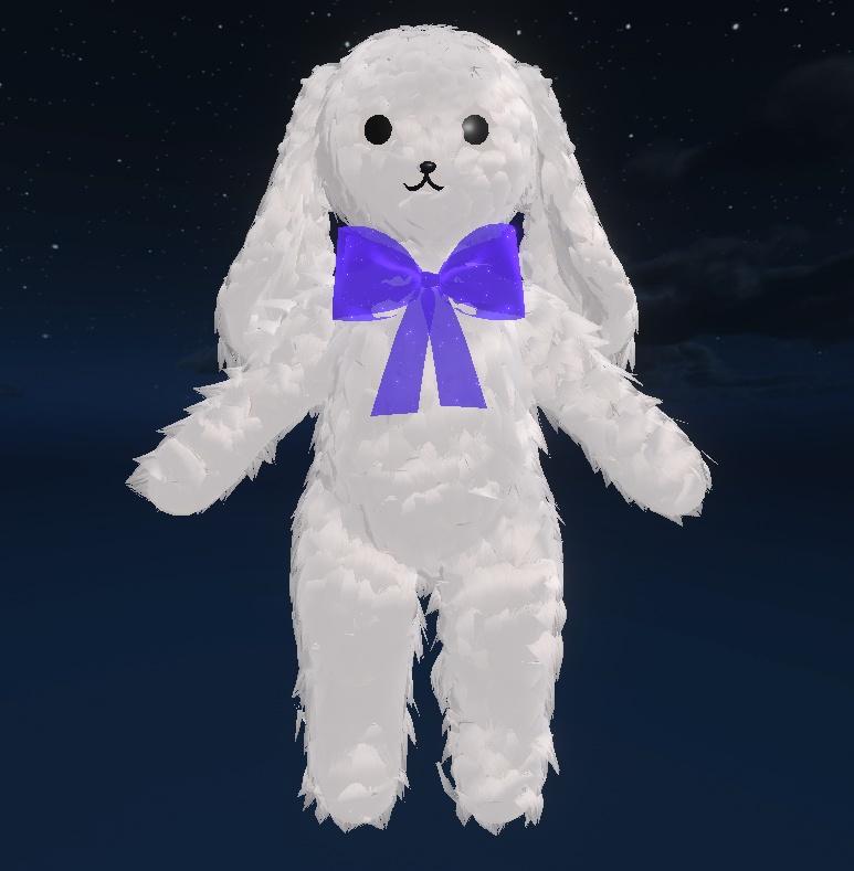 Fluffy Bunny VRChat Avatar
