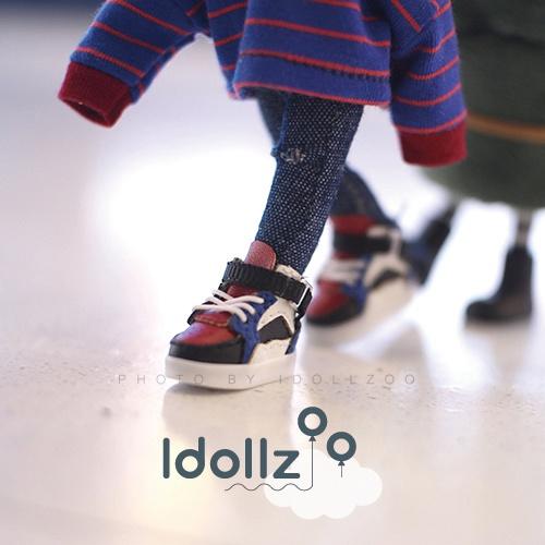 オビツ11 靴  色合わせの運動靴