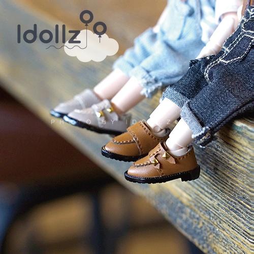 オビツ11 靴  金くぎの靴