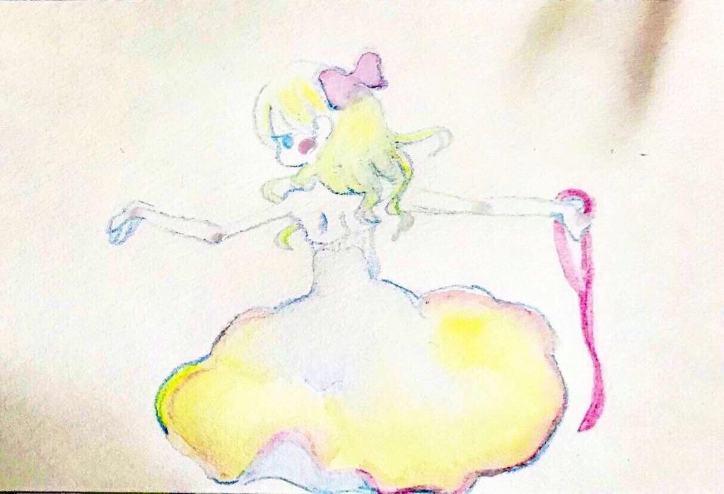 溶ける少女-花の踊り子