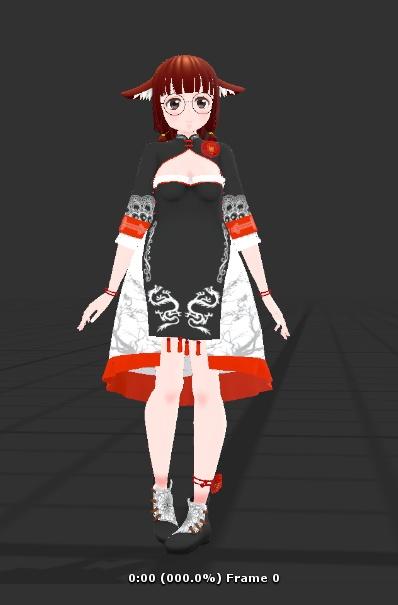VRChat向けIDLEアニメーション
