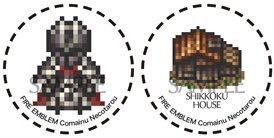 ファイアーエムブレム FE 蒼炎の軌跡 漆黒の騎士缶バッジ