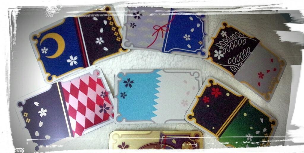 【刀剣乱舞】カード型ステッカー