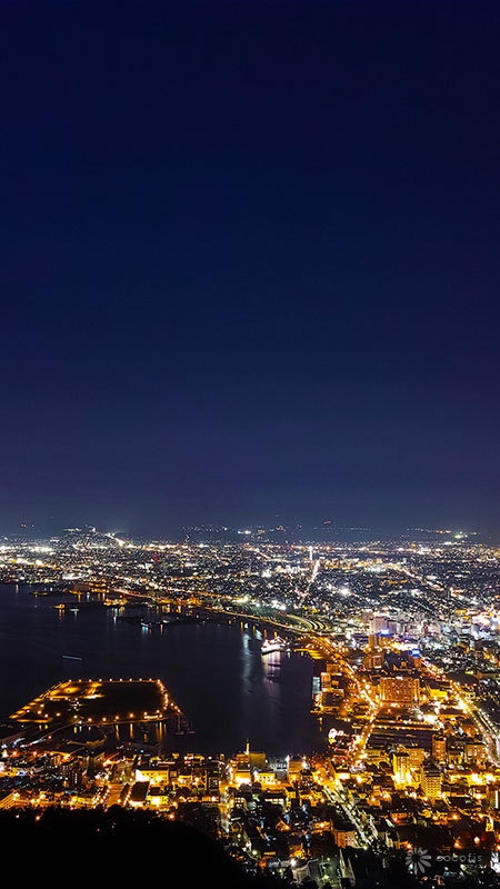 壁紙夜景 Night View Iphone Etc Cocofis Design Office Booth