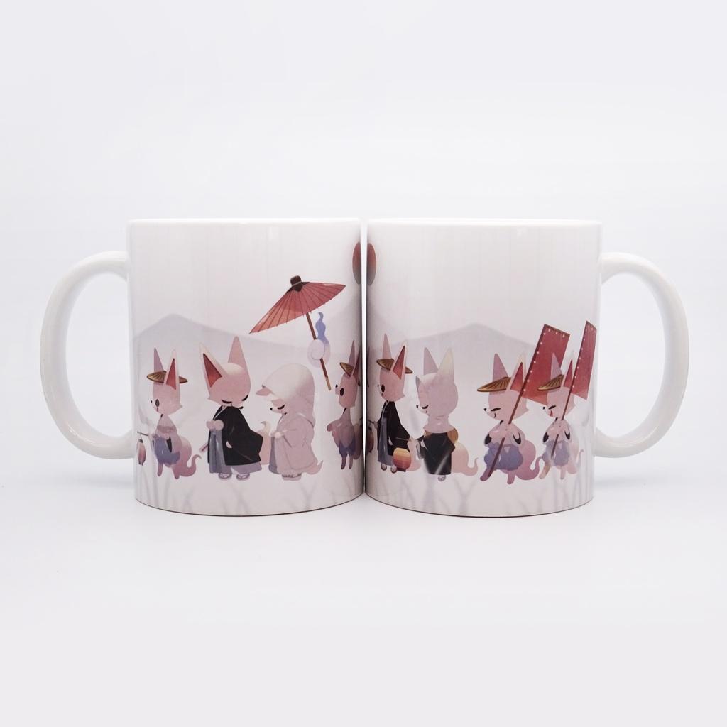マグカップ|狐の嫁入り