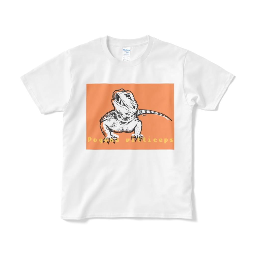 フトアゴヒゲトカゲ Tシャツ