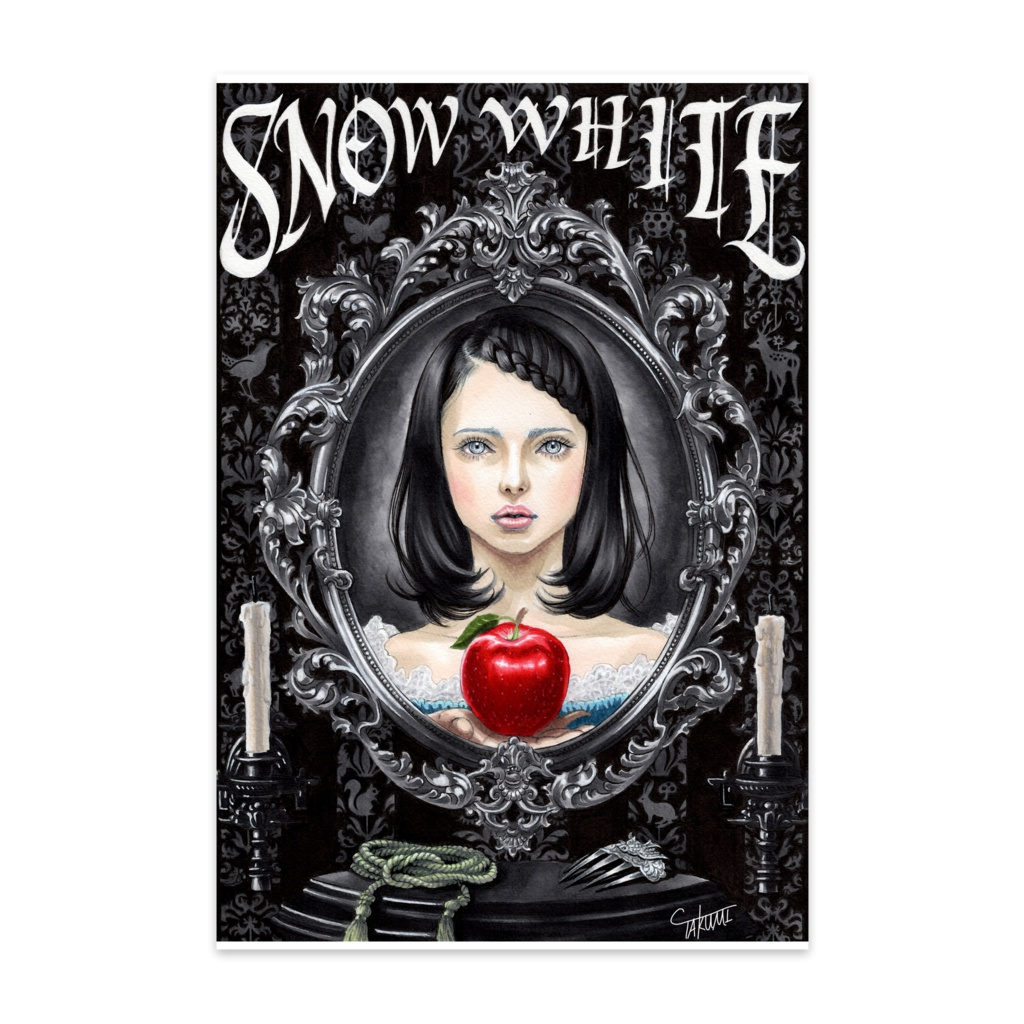 白雪姫(ポストカード10枚セット)