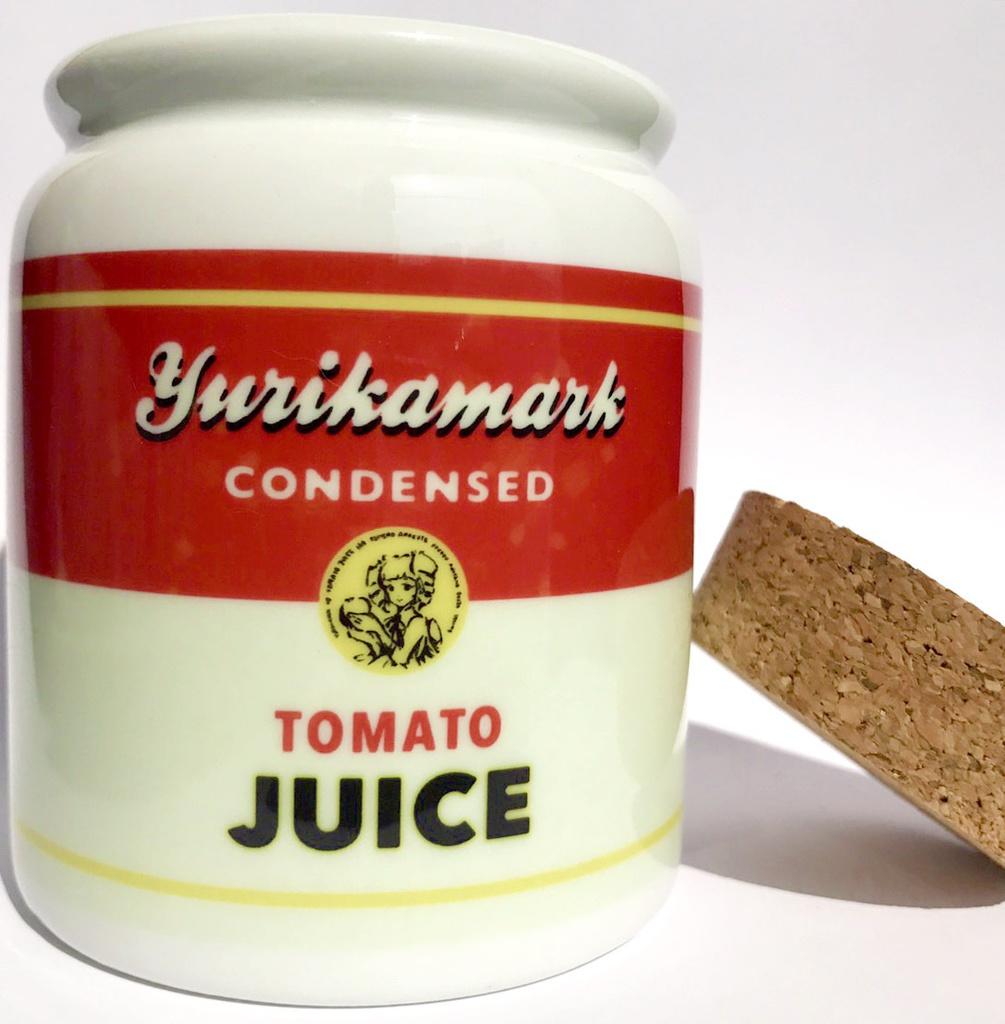 ユリカ様マークのトマト缶(キャンディーポット)説明文をよくお読みください
