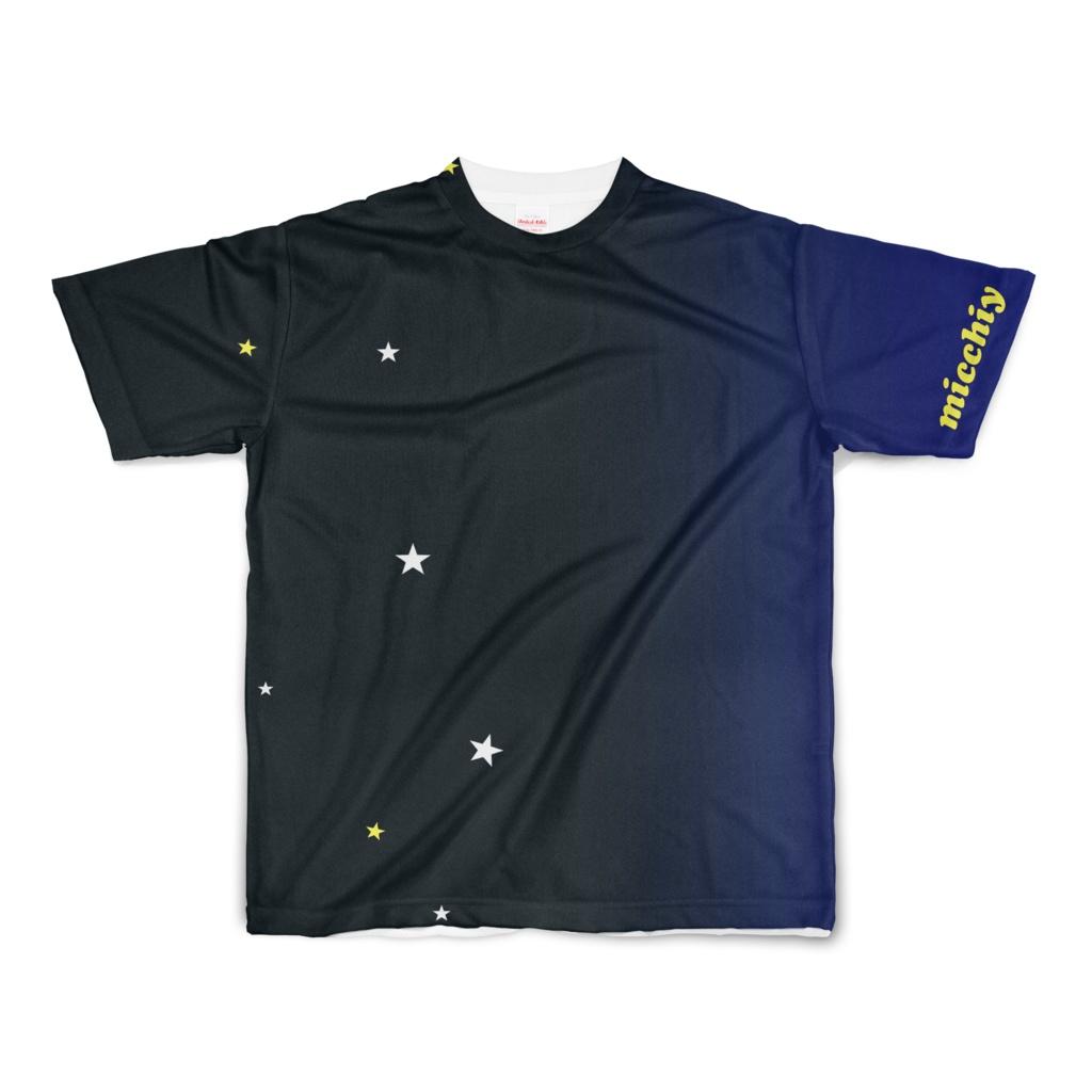 半袖Tシャツ 宇宙0