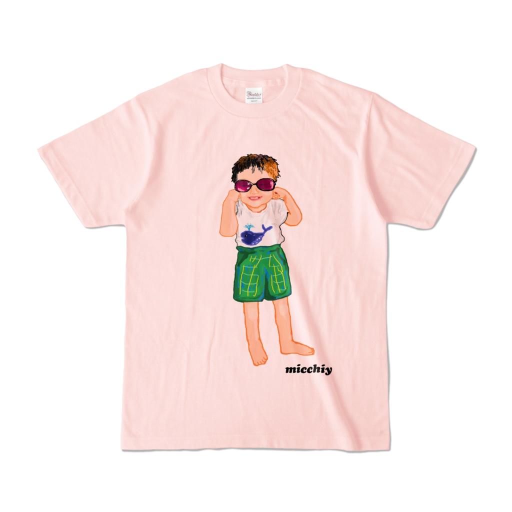 半袖Tシャツ ピンク