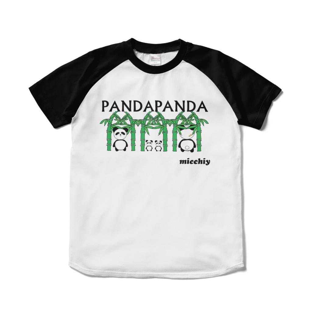 半袖ラグランTシャツ PANDAPANDA 13517325