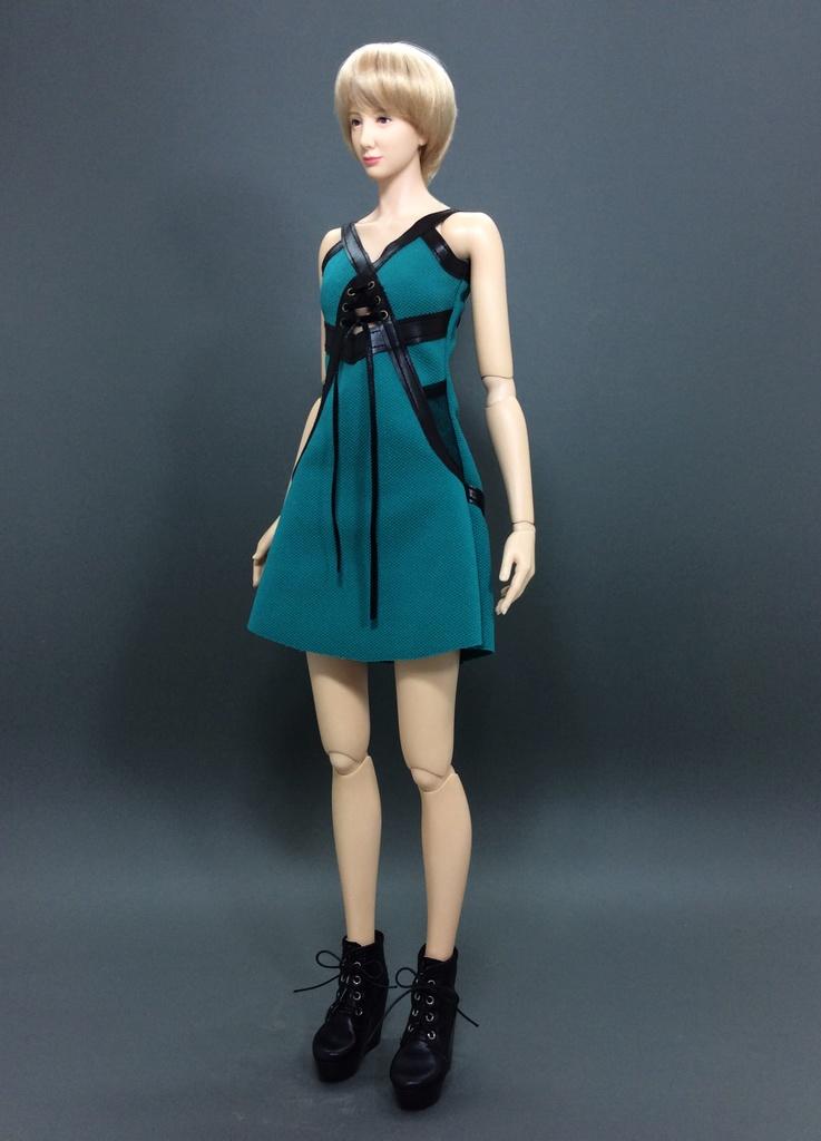 XY-Dress ''Turquoise Ball'' (OS-376)