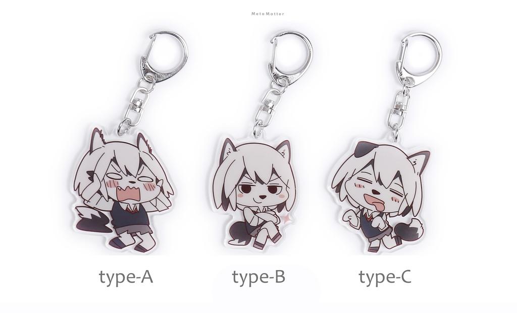 【Yagi】Husky girl(Key chain fob)