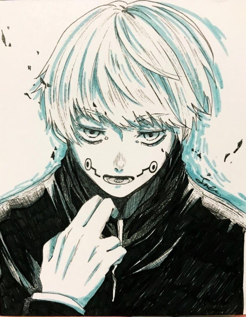 狗巻棘 手描きイラスト - 稲穂の楽園 - BOOTH