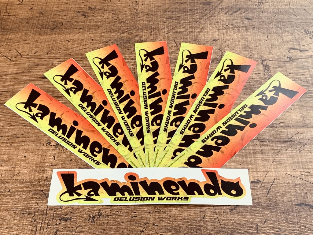 KAMINENDO / Team Logo sticker ver.1.1