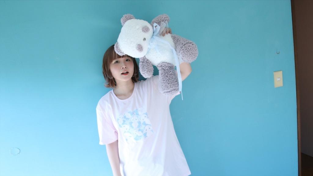 (ライトピンク)TEDDY MAROPAN T-Shirts