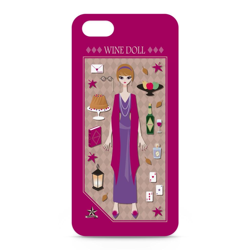 WINE DOLL iPhoneケース
