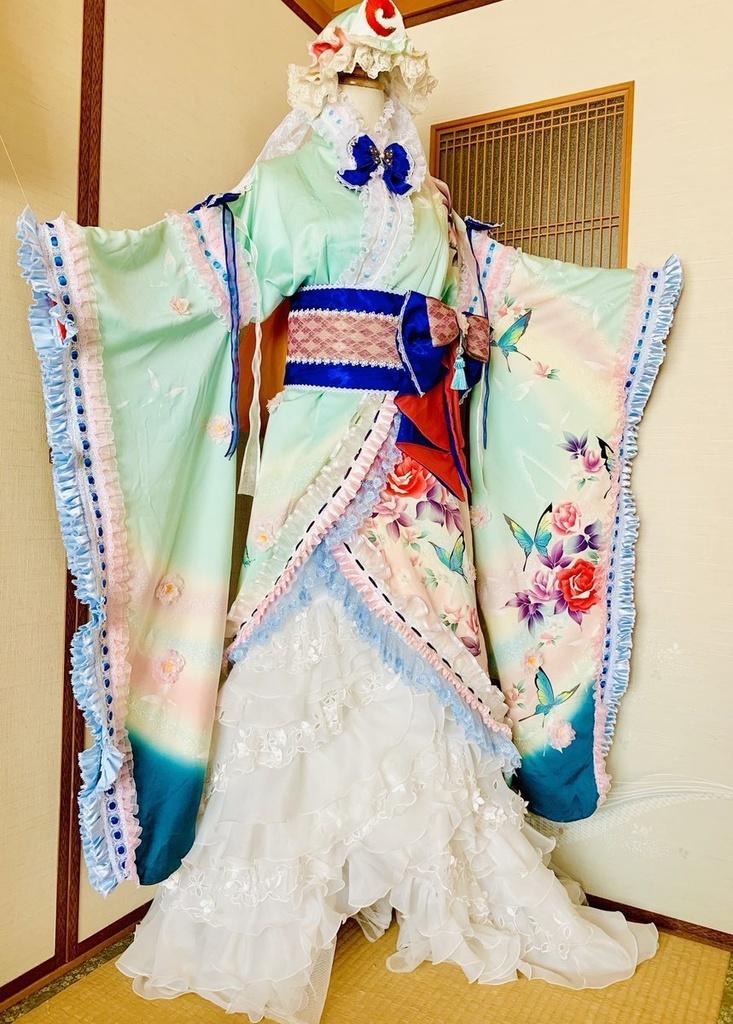 東方project  西行寺幽々子 アレンジ衣装