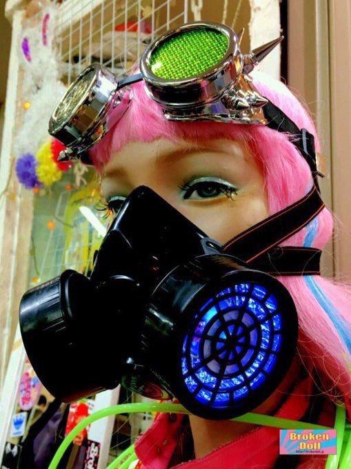 LEDガスマスク 第2世代  木村花着用モデル
