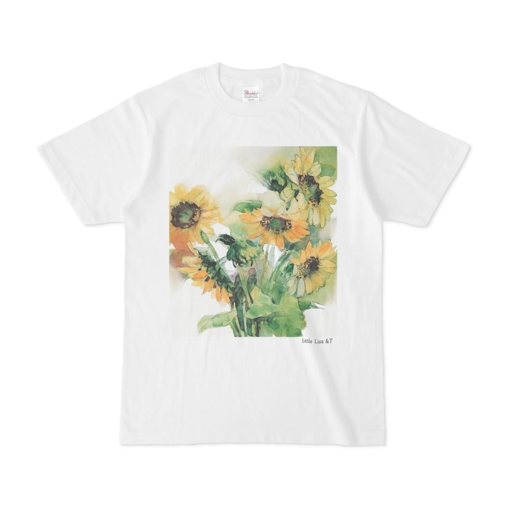 手描きオリジナルプリントTシャツ