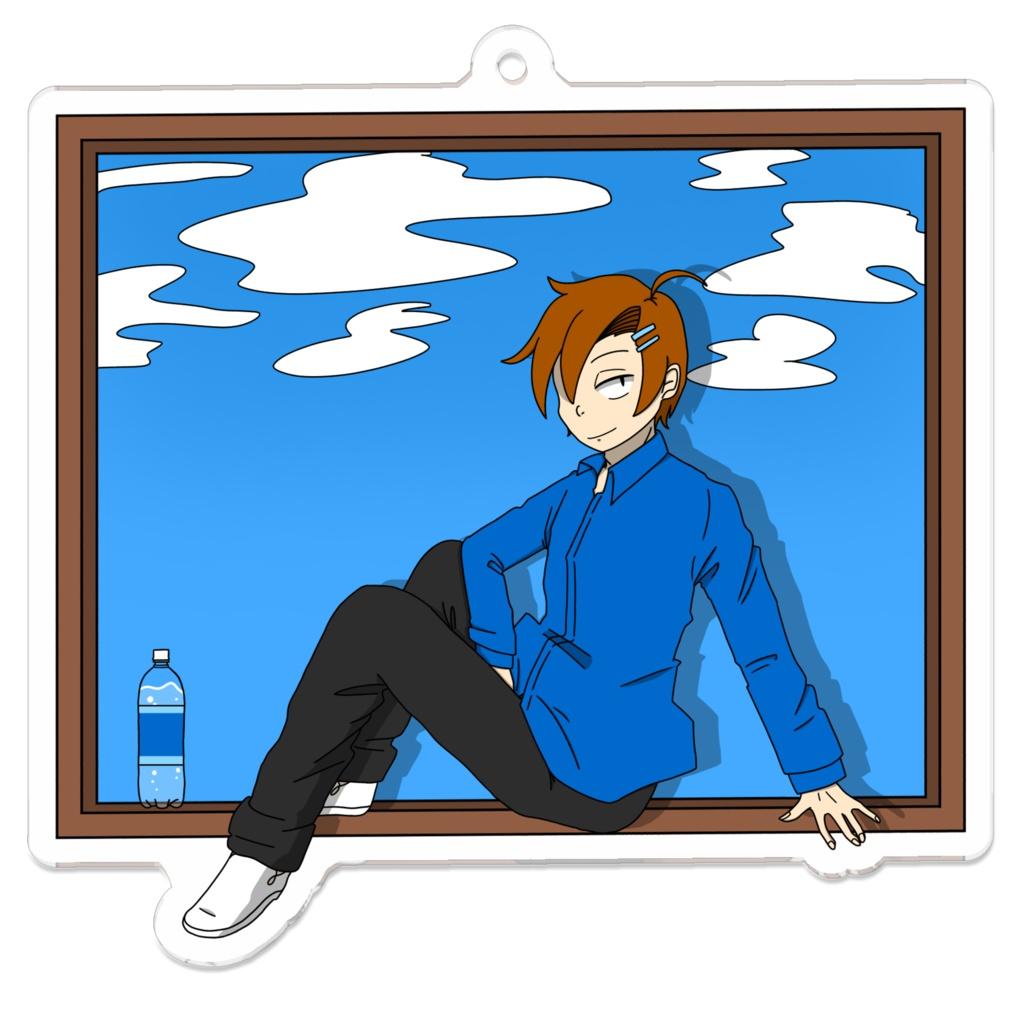 青空サイダー/アクキー