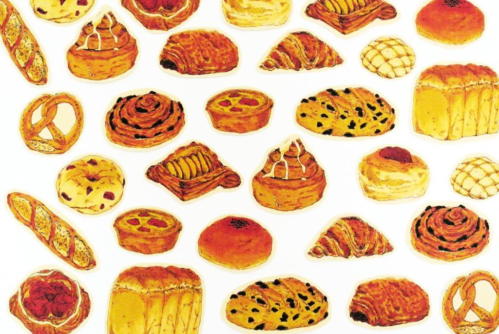 【パン】フレークシール