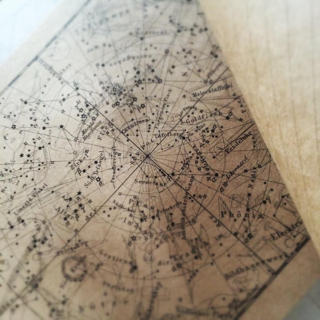 星座図レターパッド