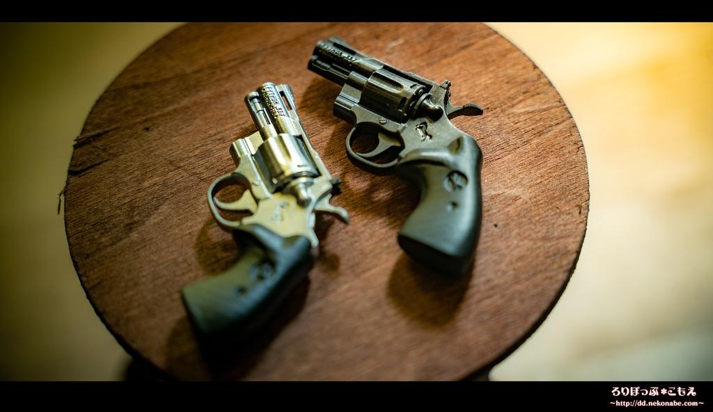 ドール用 1/3 Colt Python .357  2.5inch