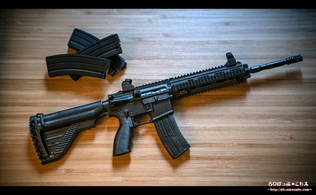 ドール用 1/3 HK416