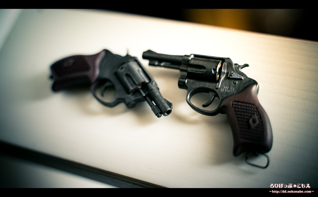 レジン製ドール用1/3 M60警察銃モデル