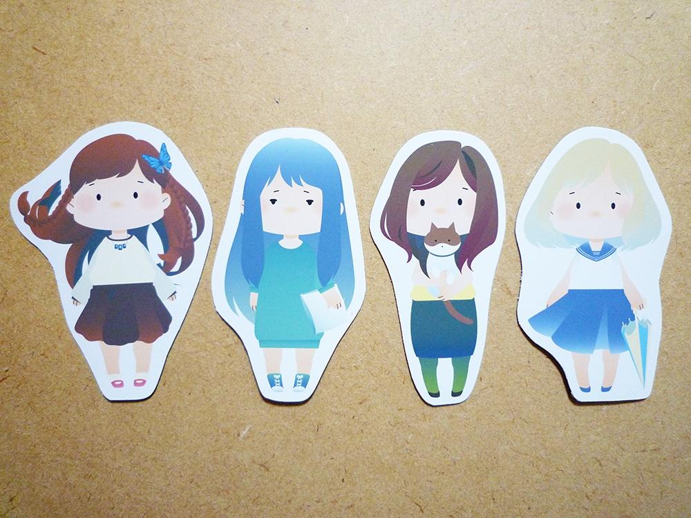 【ソフトマグネット】girls
