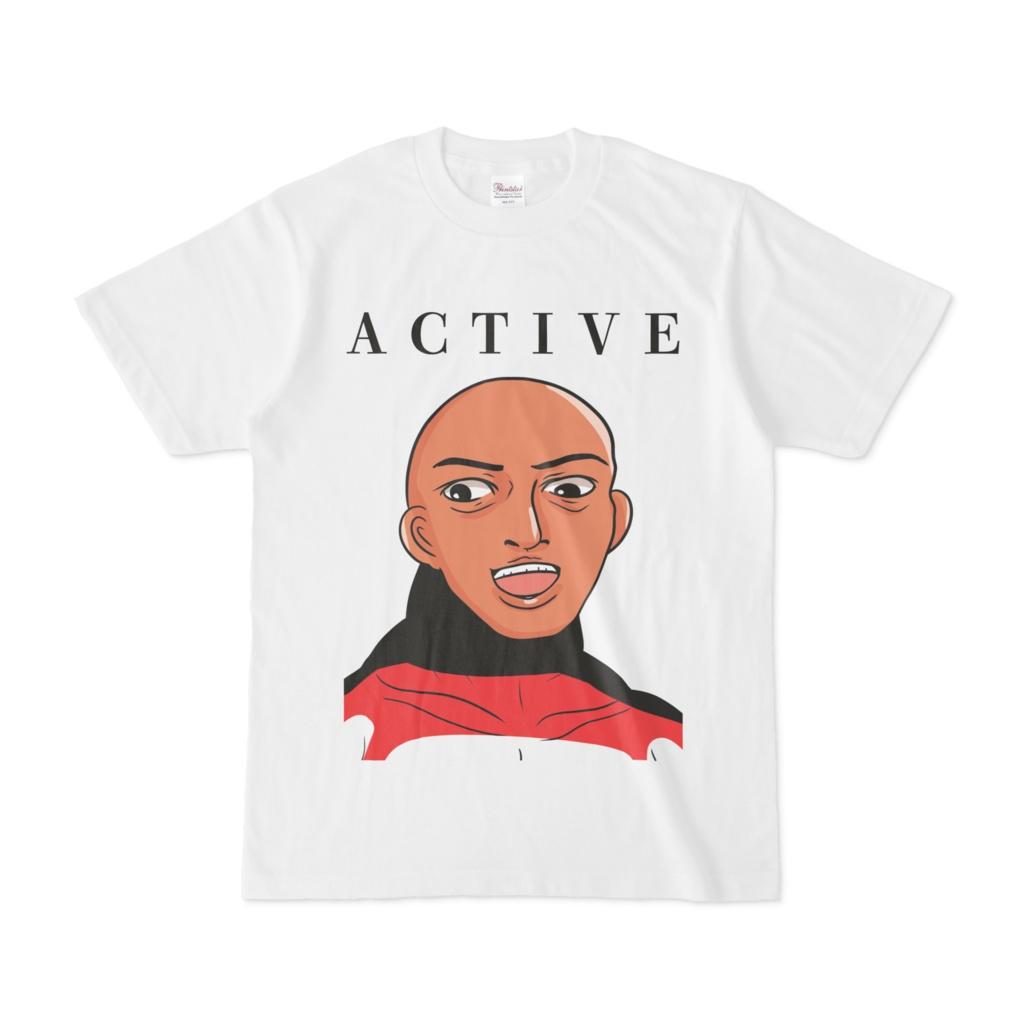 ACTIVEなTシャツ