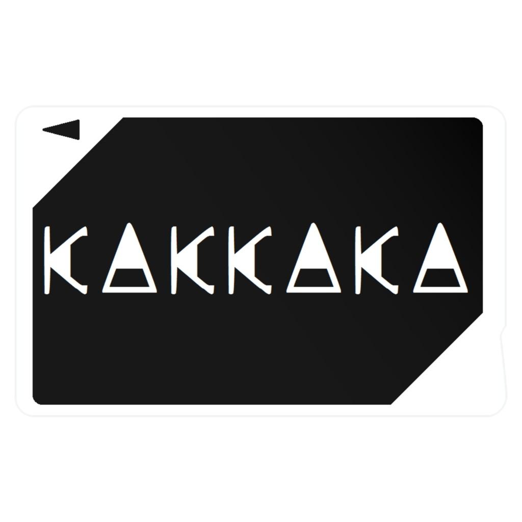 ICカードステッカー KAKKAKA