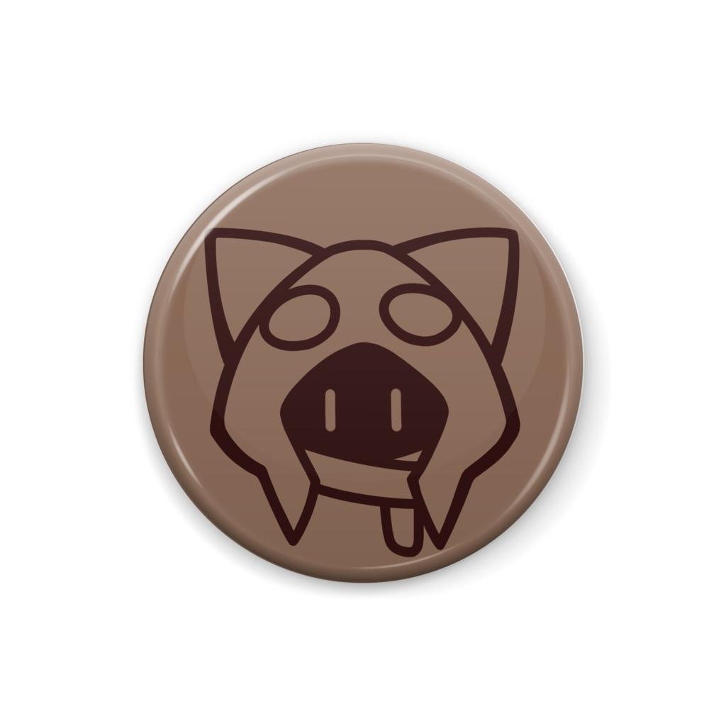 【BinTRoLL】1857缶バッジ - 25mm