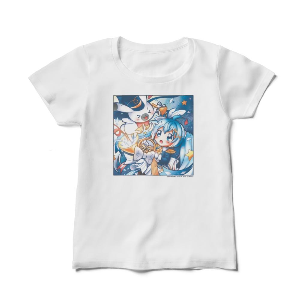 SNOW MIKU 2020 * Illst. by Miesa Tシャツ(レディース)