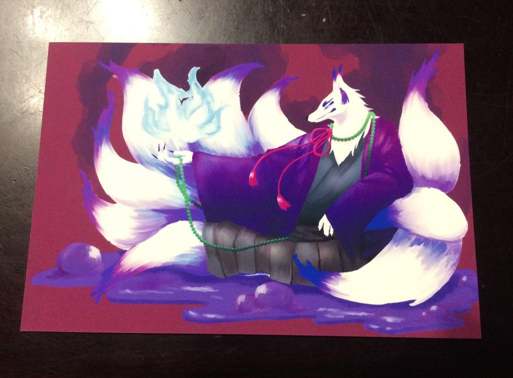 紫獣神主のキュウビ