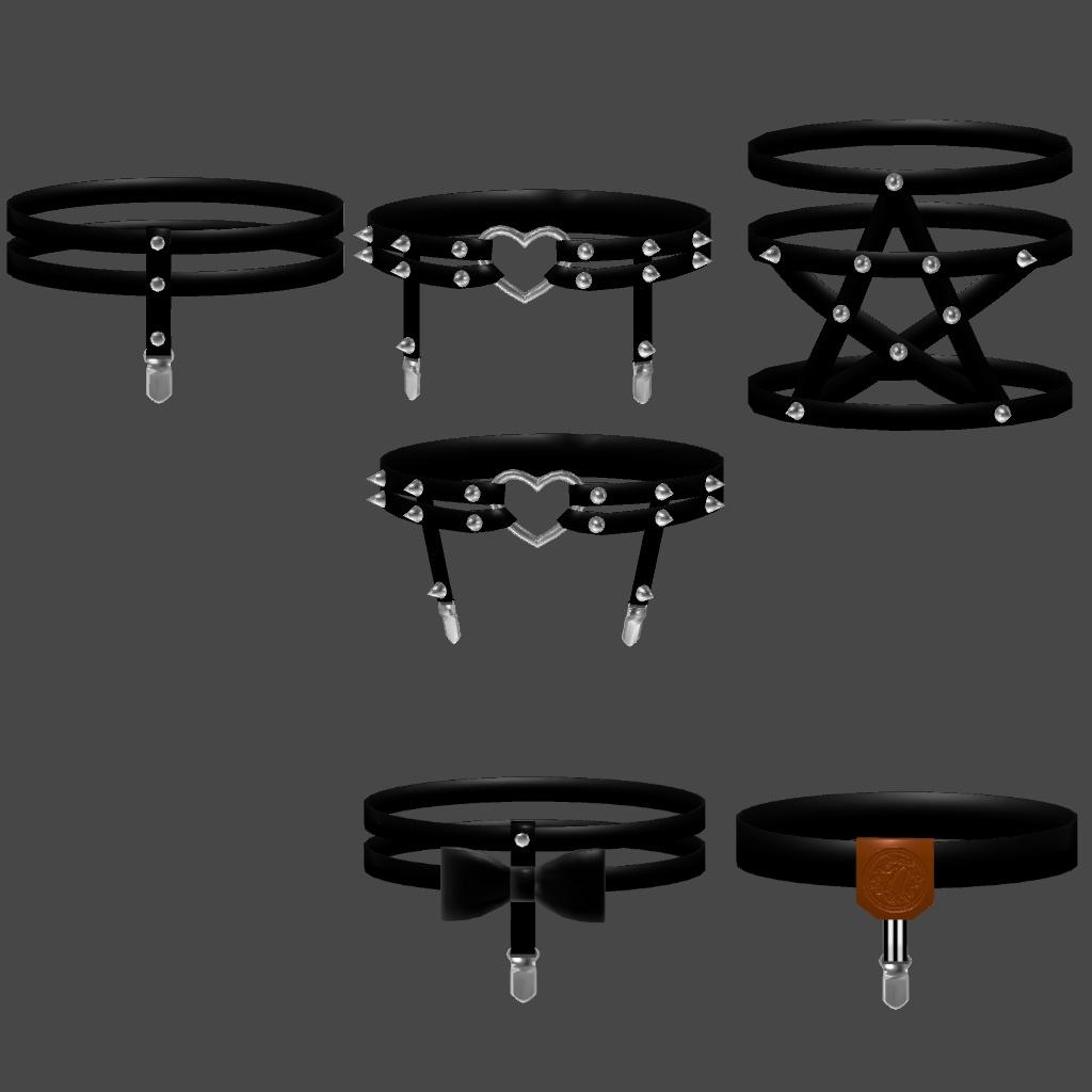 ガーターセット 6種類