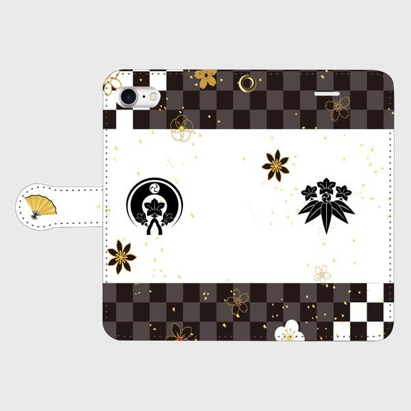 刀剣乱舞 源氏兄弟イメージ iPhoneケース