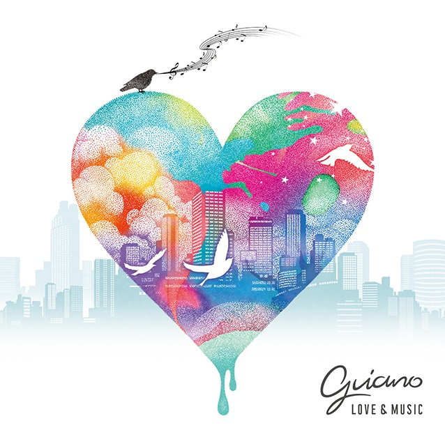 【11月27日発売】Guiano 1st Album「Love & Music」