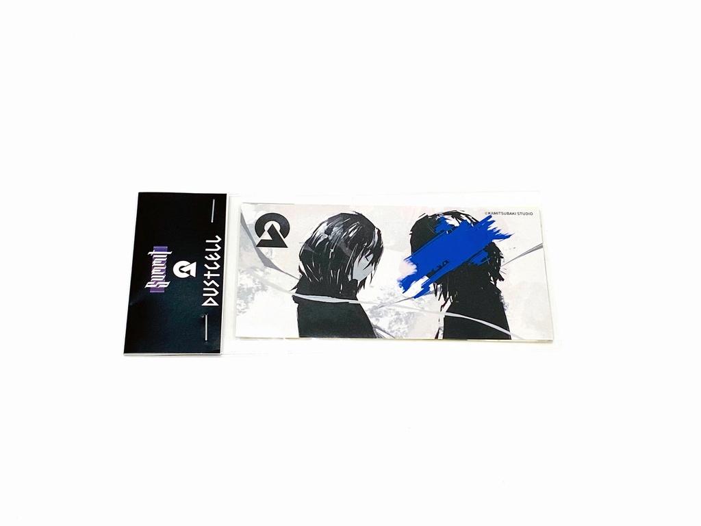 【受注期間:8/1~10】DC ONE-MAN LIVE「SUMMIT」グッズ_「ONE」ステッカーセット