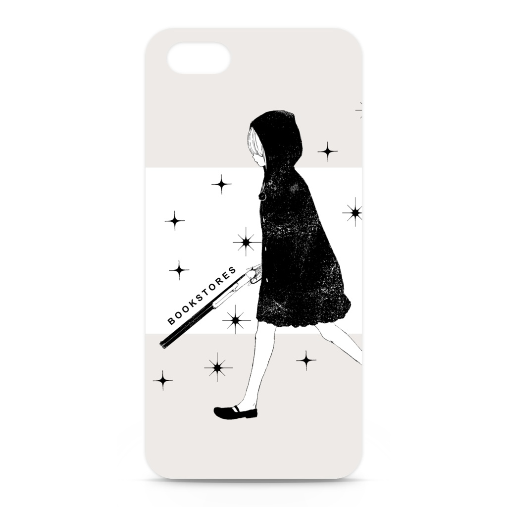 「little red riding hood 」iPhone5用ケース(側面印刷なし)