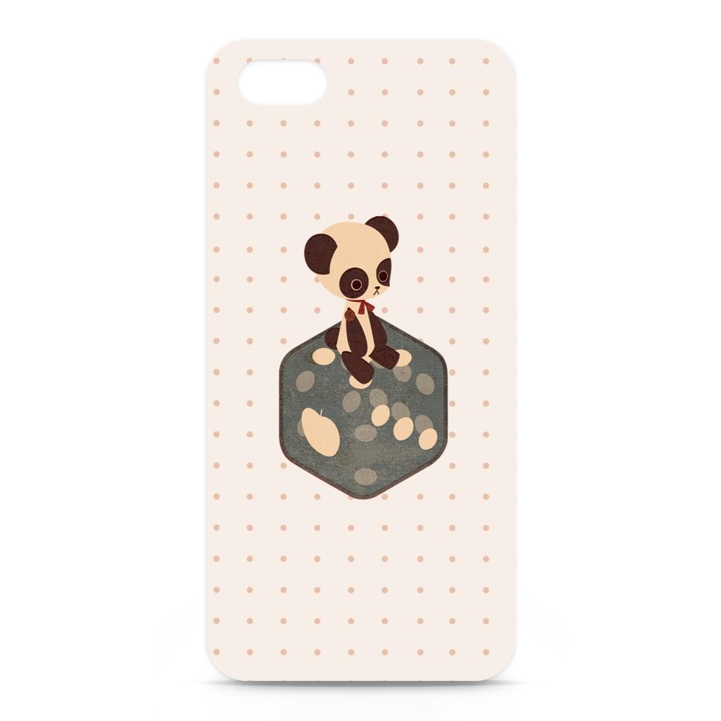 テディパンダ iPhone用ケース iPhone 5 /5 SE / 6 / 6s / 6 Plus / 7 /7 plus