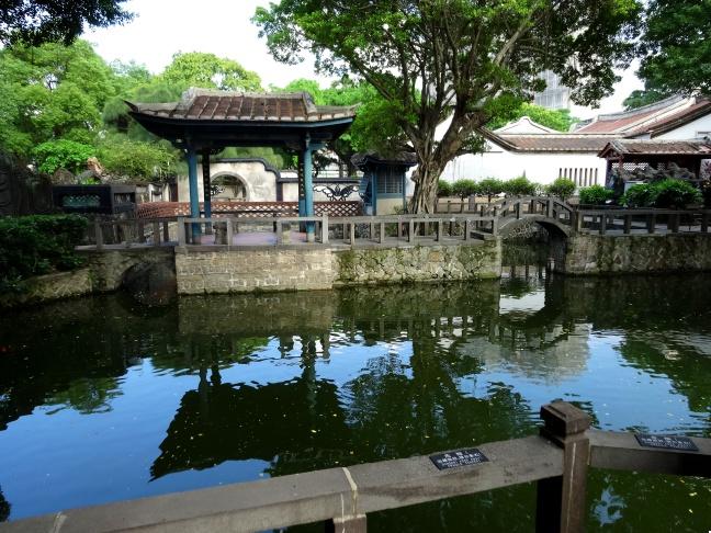 台湾庭園写真素材