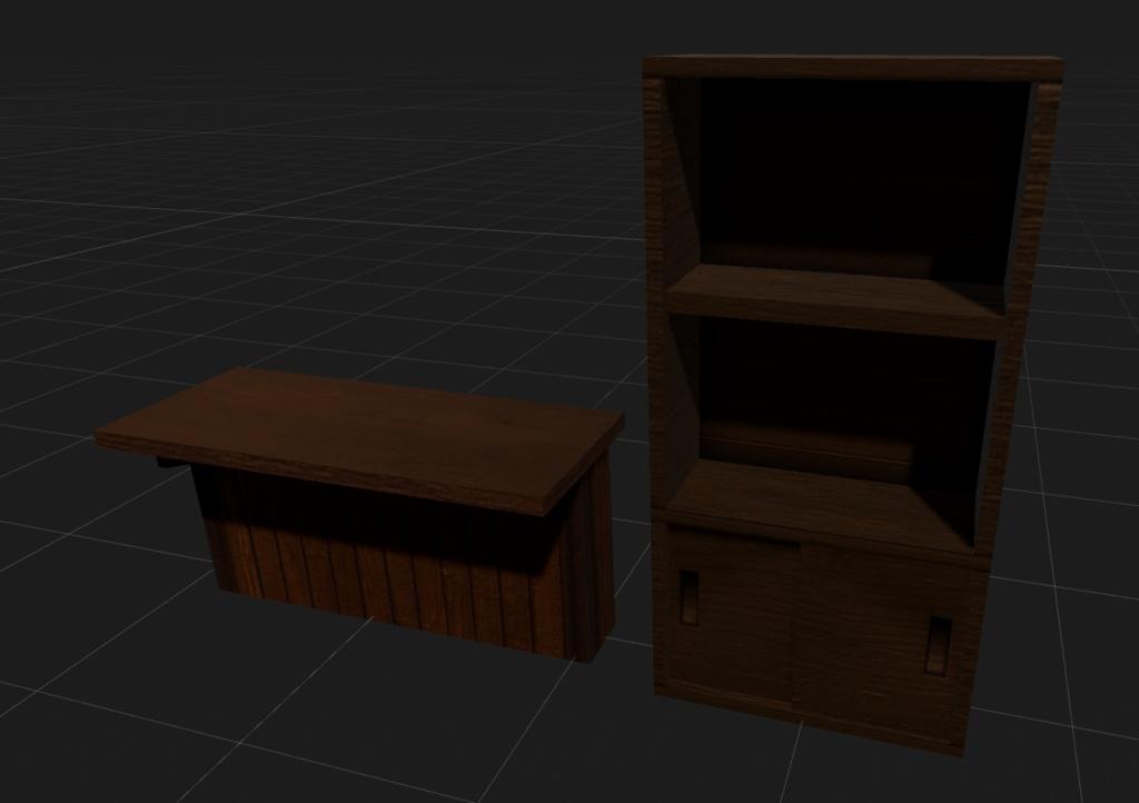 counter&shelf